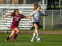 6709 Girls JV Soccer v NW-School 100814