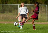 6718 Girls JV Soccer v NW-School 100814