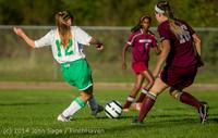 6724 Girls JV Soccer v NW-School 100814