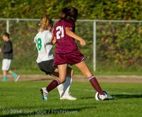 6736 Girls JV Soccer v NW-School 100814