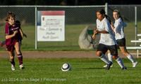 6747 Girls JV Soccer v NW-School 100814