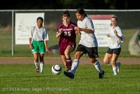 6752 Girls JV Soccer v NW-School 100814