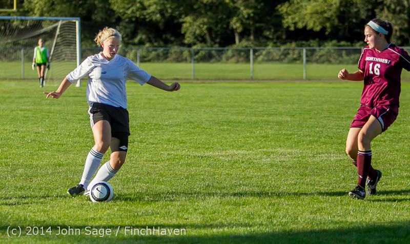 6763 Girls JV Soccer v NW-School 100814