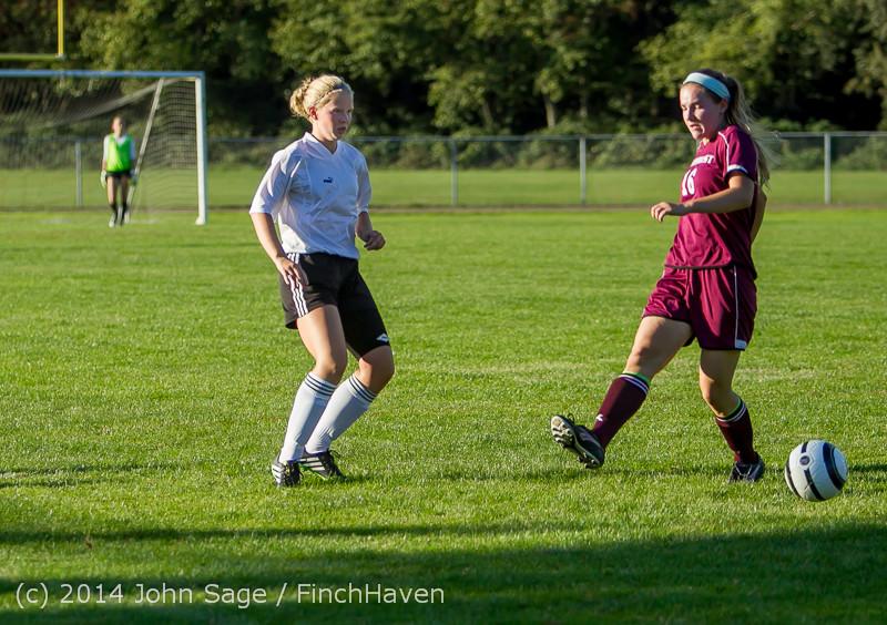 6766 Girls JV Soccer v NW-School 100814