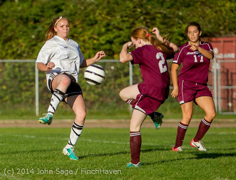 6778 Girls JV Soccer v NW-School 100814