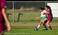 6815 Girls JV Soccer v NW-School 100814