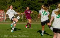 6849 Girls JV Soccer v NW-School 100814