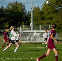 6858 Girls JV Soccer v NW-School 100814