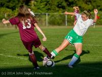 6918 Girls JV Soccer v NW-School 100814