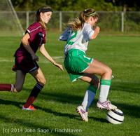 6925 Girls JV Soccer v NW-School 100814