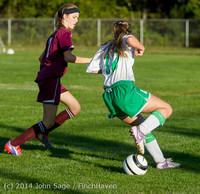 6926 Girls JV Soccer v NW-School 100814