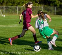 6927 Girls JV Soccer v NW-School 100814