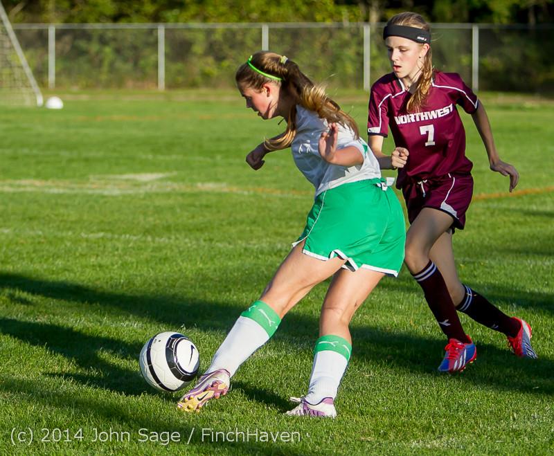6930 Girls JV Soccer v NW-School 100814