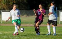 6943 Girls JV Soccer v NW-School 100814