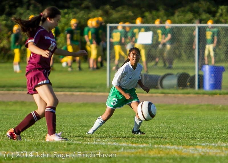 6977 Girls JV Soccer v NW-School 100814