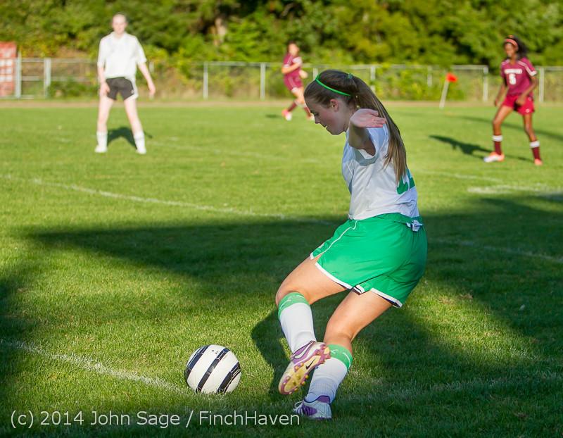 7014 Girls JV Soccer v NW-School 100814