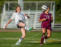 7042 Girls JV Soccer v NW-School 100814