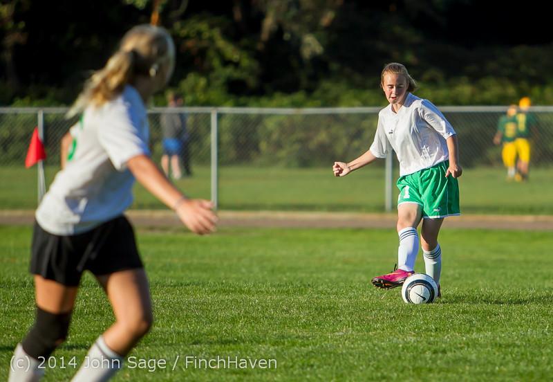 7075 Girls JV Soccer v NW-School 100814