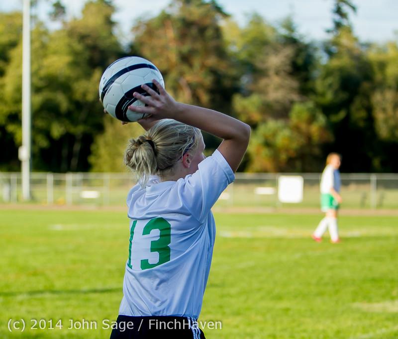 7086 Girls JV Soccer v NW-School 100814