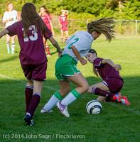 7095 Girls JV Soccer v NW-School 100814