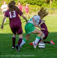 7096 Girls JV Soccer v NW-School 100814