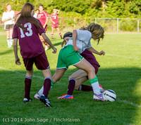 7097 Girls JV Soccer v NW-School 100814