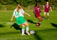7102 Girls JV Soccer v NW-School 100814