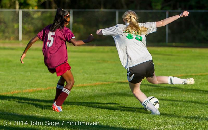 7112 Girls JV Soccer v NW-School 100814