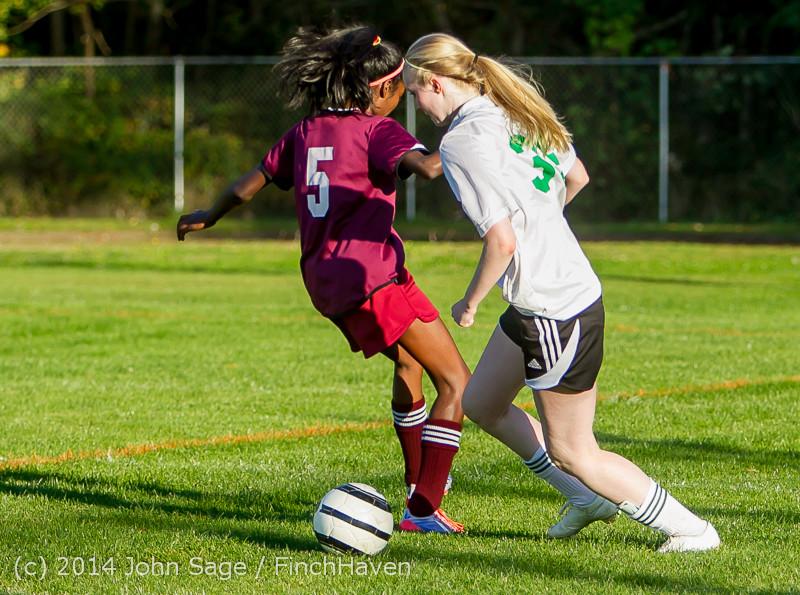 7116 Girls JV Soccer v NW-School 100814