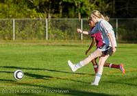 7118 Girls JV Soccer v NW-School 100814