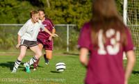 7121 Girls JV Soccer v NW-School 100814