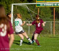 7124 Girls JV Soccer v NW-School 100814