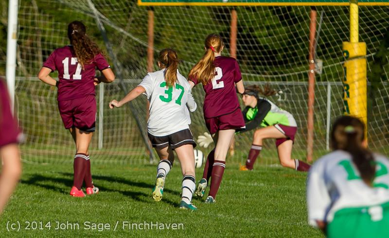 7131 Girls JV Soccer v NW-School 100814