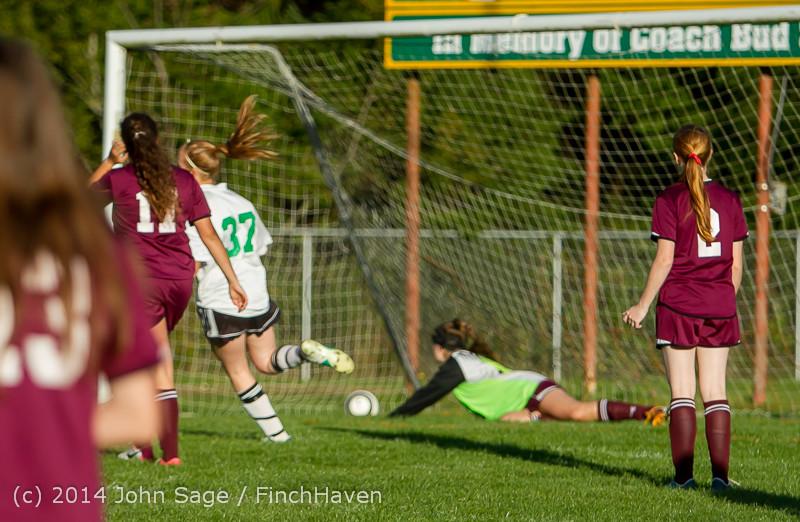 7146 Girls JV Soccer v NW-School 100814