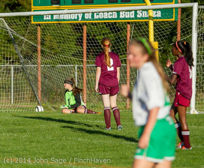 7151 Girls JV Soccer v NW-School 100814