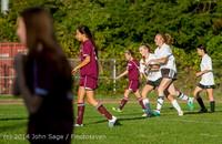 7157 Girls JV Soccer v NW-School 100814