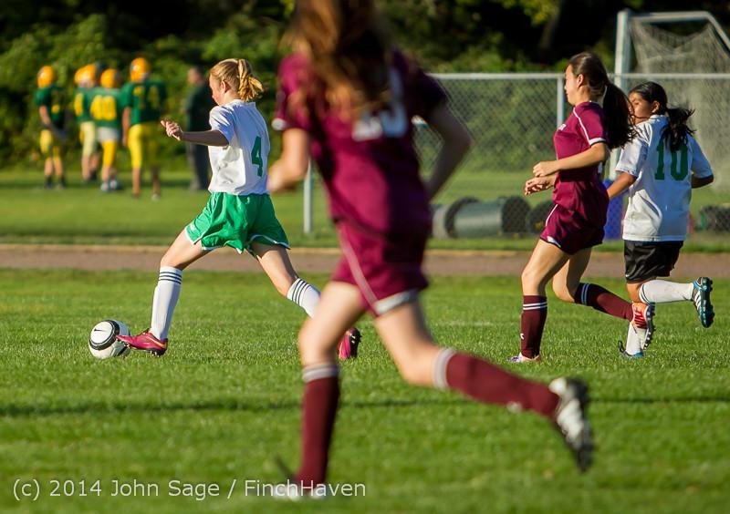 7205 Girls JV Soccer v NW-School 100814