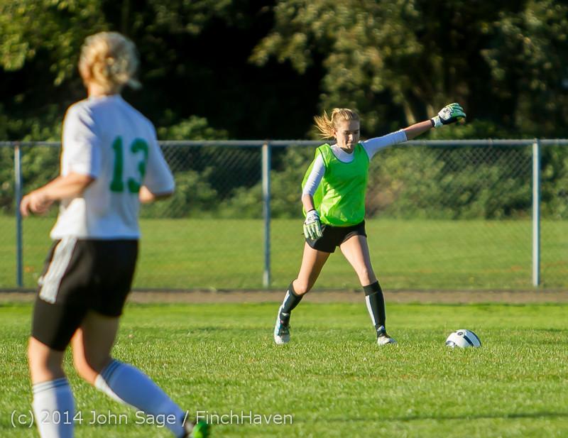 7212 Girls JV Soccer v NW-School 100814