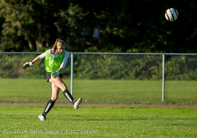 7216 Girls JV Soccer v NW-School 100814