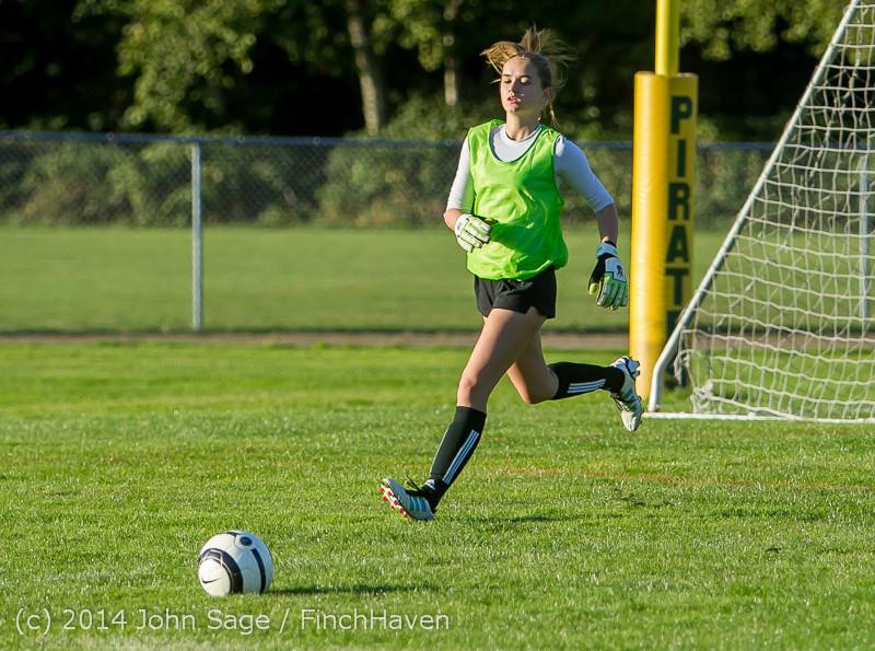 7266 Girls JV Soccer v NW-School 100814