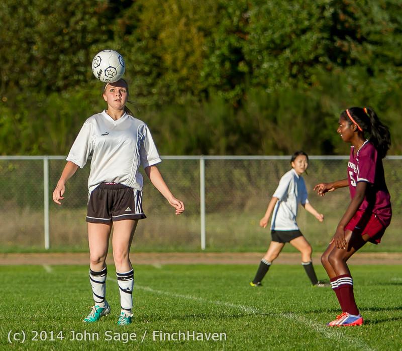 7312 Girls JV Soccer v NW-School 100814