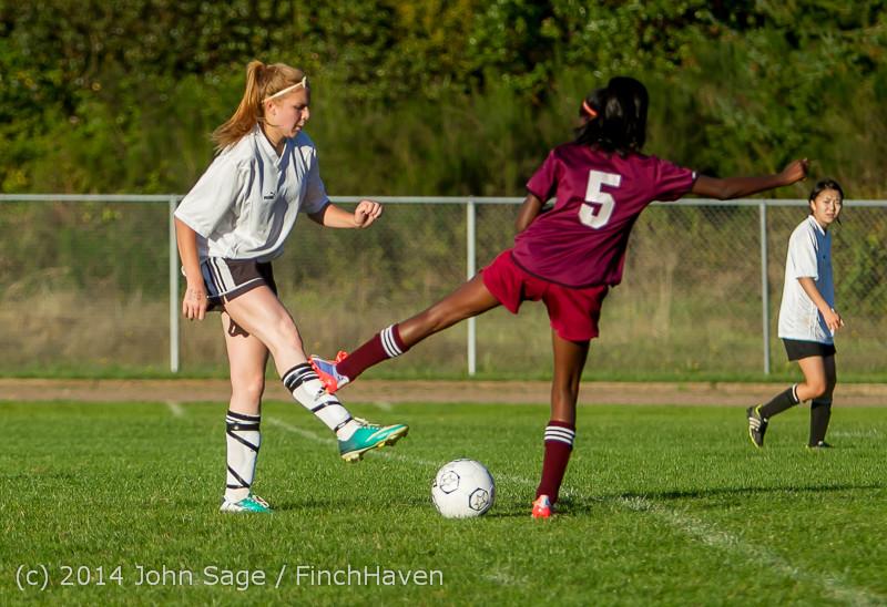 7316 Girls JV Soccer v NW-School 100814