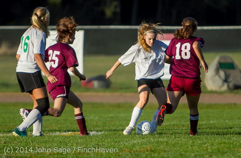 7349 Girls JV Soccer v NW-School 100814