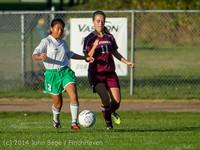 7361 Girls JV Soccer v NW-School 100814