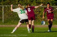 7426 Girls JV Soccer v NW-School 100814