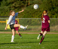 7453 Girls JV Soccer v NW-School 100814
