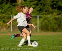 7507 Girls JV Soccer v NW-School 100814