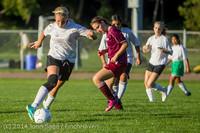 7534 Girls JV Soccer v NW-School 100814