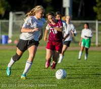 7537 Girls JV Soccer v NW-School 100814
