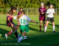 7621 Girls JV Soccer v NW-School 100814